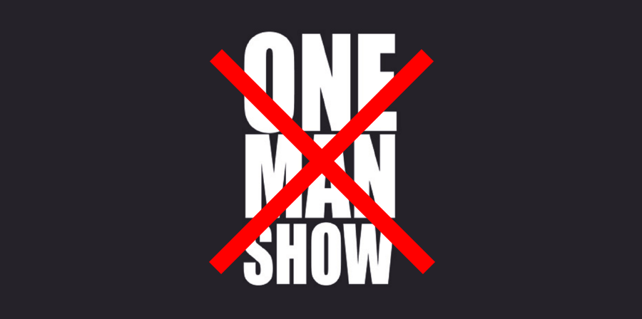 not-a-one-man-show