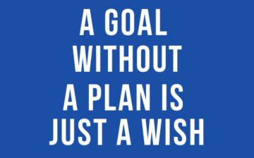 smartperspective - Un but sans plan est juste un souhait